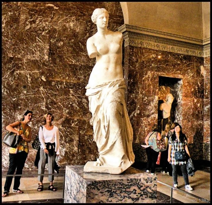 Venus de Milo, at the Louvre